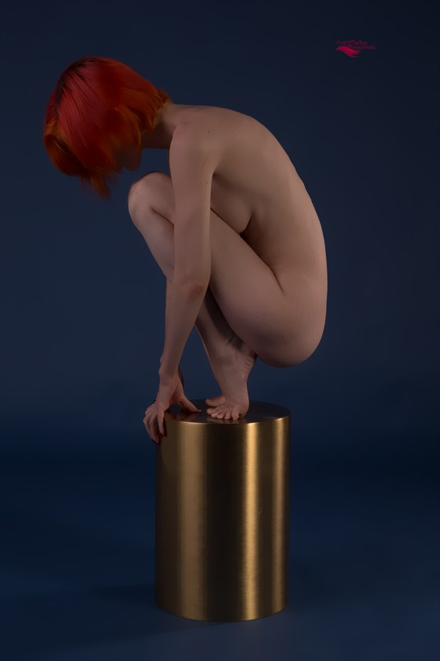 Beautiful Pose Artistic Nude Artwork by Photographer Miller Box Photo