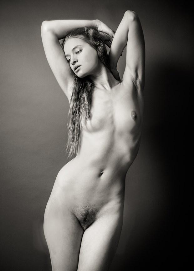 Beauty's Grace Artistic Nude Photo by Photographer Risen Phoenix