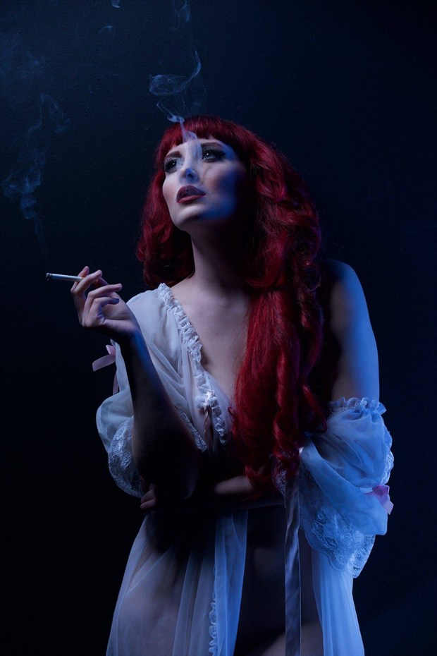 Beauty Noir Artistic Nude Artwork by Model Cat Ropo