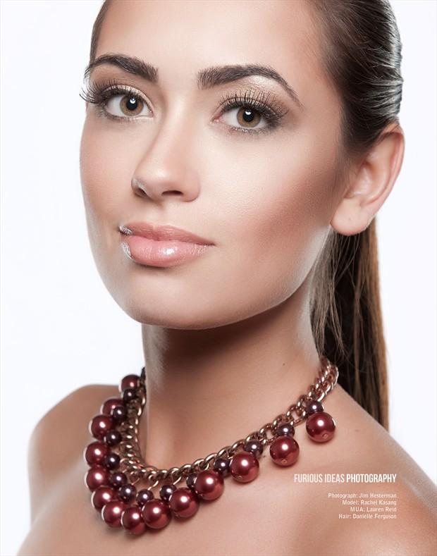 Beauty With Rachel Kasang Fashion Photo by Photographer Jim Hesterman
