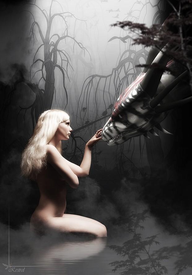 Beauty and the Beast Fantasy Artwork by Photographer Kestrel