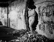 Beauty in the Ruins Artistic Nude Artwork by Photographer Thom Peters Photog
