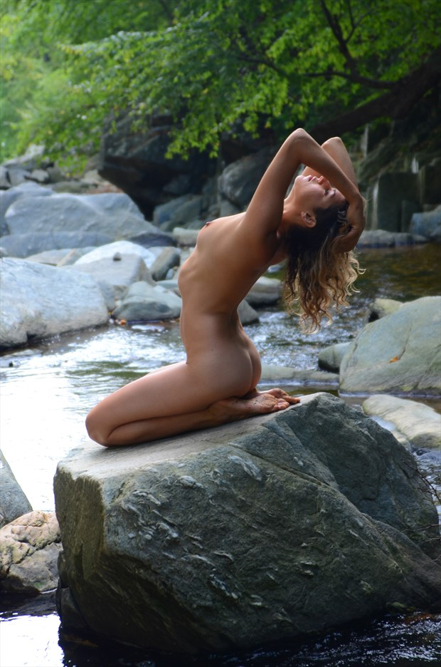 Beauty on the rocks Artistic Nude Photo by Photographer afplcc
