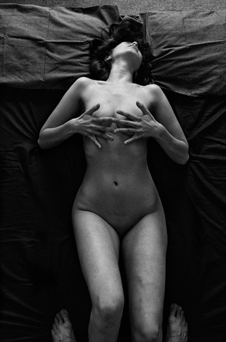Bed Series   Nude Portrait  Artistic Nude Artwork by Photographer peterwilliams