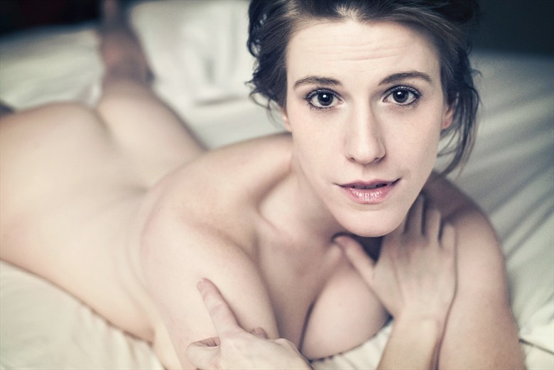 Bedroom Eyes Artistic Nude Photo by Model Tricia DeAnne