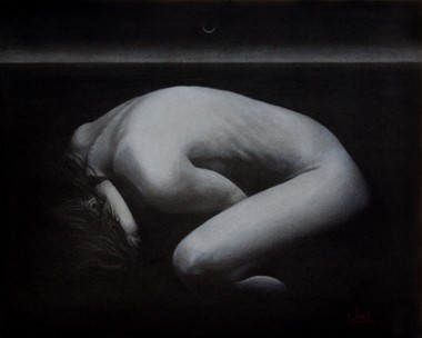 Before The Dawn Artistic Nude Artwork by Artist George Paul Miller