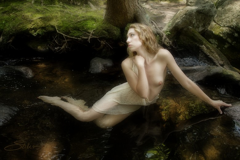 Before the Falls Artistic Nude Photo by Artist Kevin Stiles