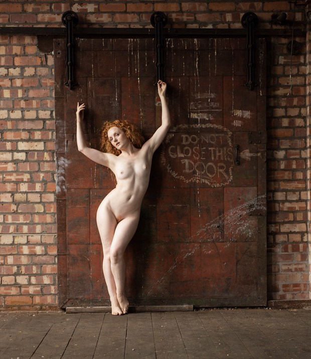 Behind The Red Door... Artistic Nude Photo by Photographer NeilH