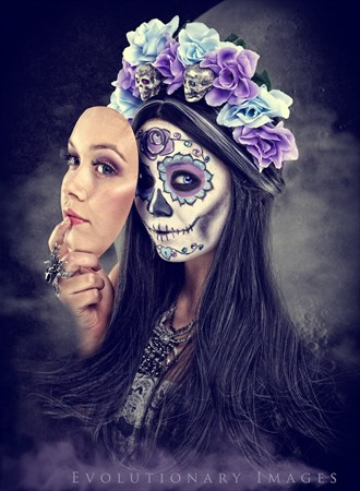 Behind the Mask Fantasy Photo by Photographer EvolutionaryImages