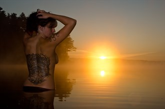 Beki at Sunrise Artistic Nude Photo by Photographer Call of The Wild