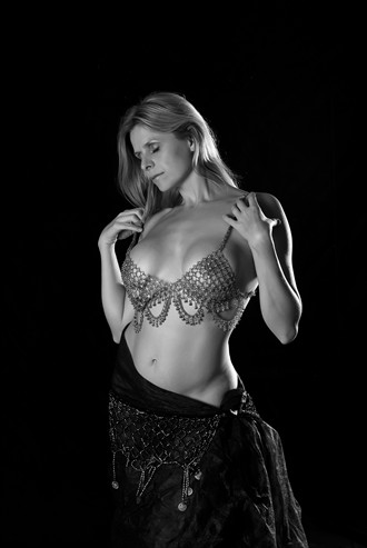 Belly Dancer Implied Nude Photo by Photographer FortWayneMike