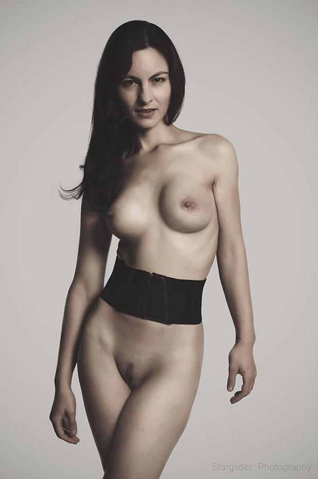 Belt Artistic Nude Photo by Model Sakura Star
