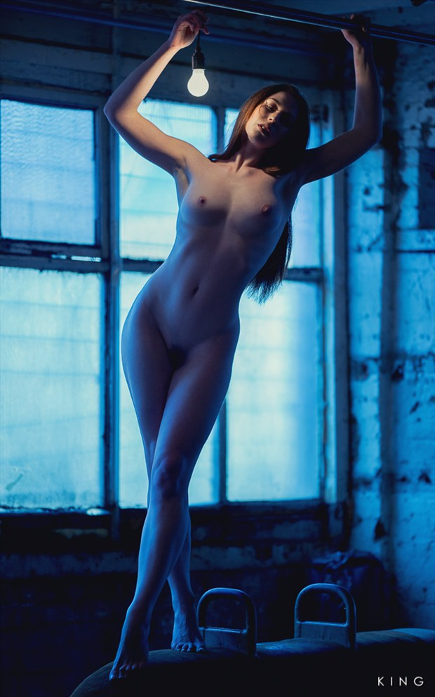 Beltcraft Blue Artistic Nude Photo by Photographer Terry King