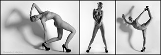 Bending Artistic Nude Photo by Model Fanny