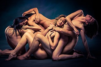Bennett Studio Artistic Nude Photo by Model April A McKay