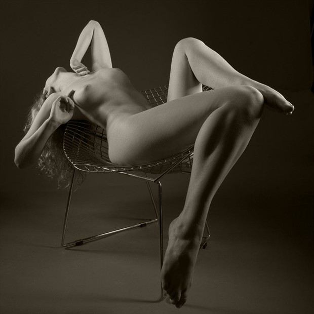 Bertoia Artistic Nude Photo by Photographer John Evans