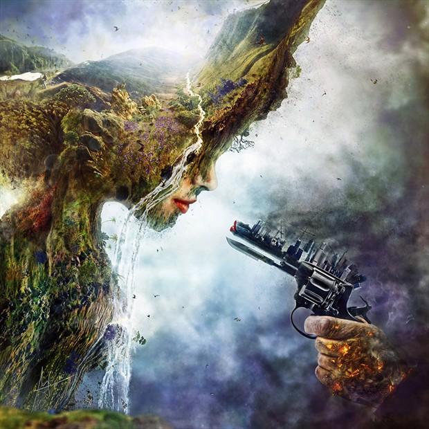 Betrayal Nature Artwork by Artist Mario S. Nevado