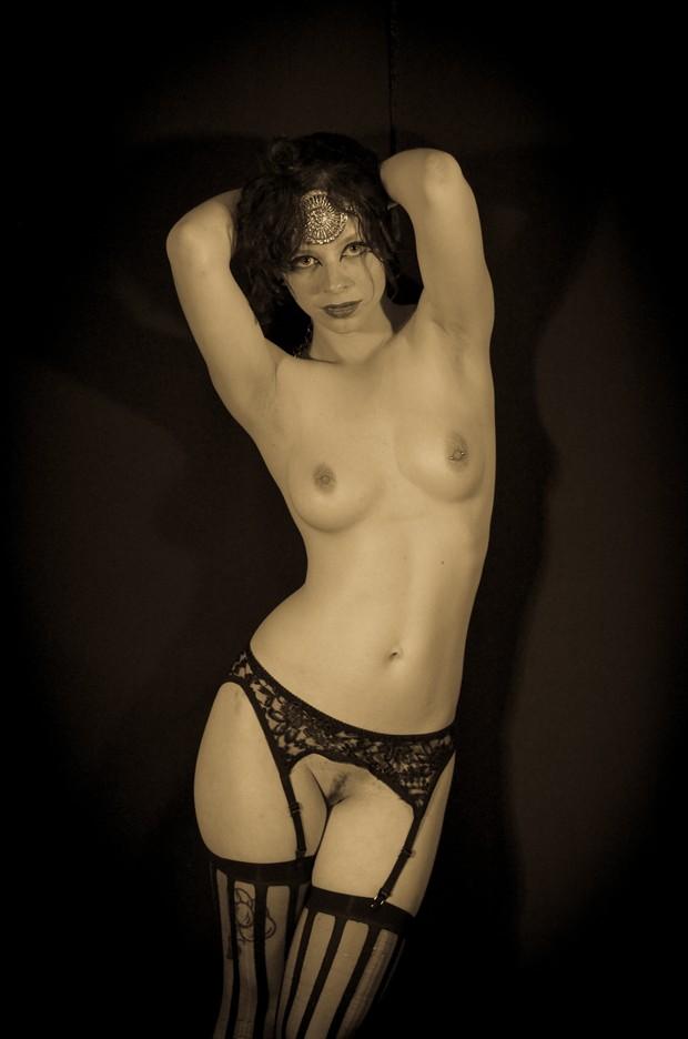 Betty Anomie, June 2013 Artistic Nude Photo by Photographer Erik Truchinski