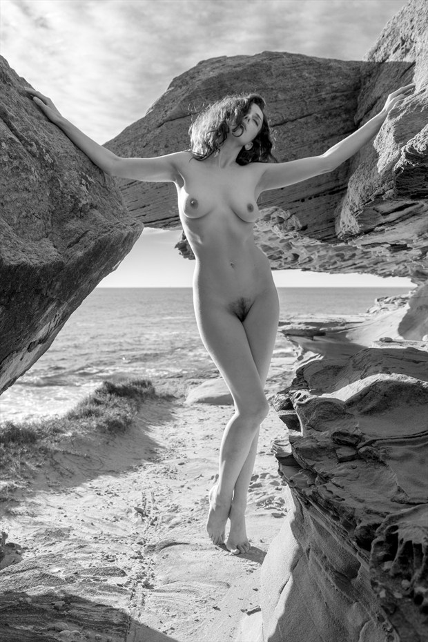 Between Rocks Artistic Nude Photo by Photographer Stephen Wong
