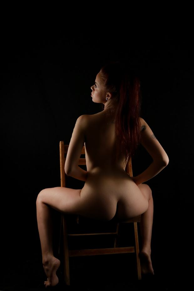 Beyond Artistic Nude Photo by Model Aurora Red