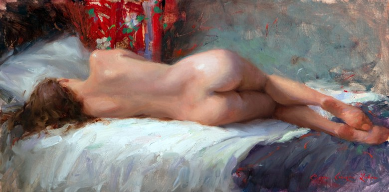 Beyond the Horizon Artistic Nude Artwork by Artist bcliston