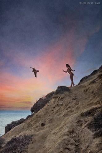Beyond the sea Artistic Nude Artwork by Model Ceara Blu