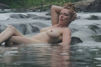 Bianca in the Waterfall %233 Artistic Nude Photo by Photographer Naturally Scenic
