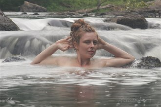 Bianca in the Waterfall Nature Photo by Photographer Naturally Scenic