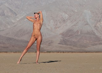Big Stage and Bright Light Artistic Nude Photo by Photographer Alan H Bruce