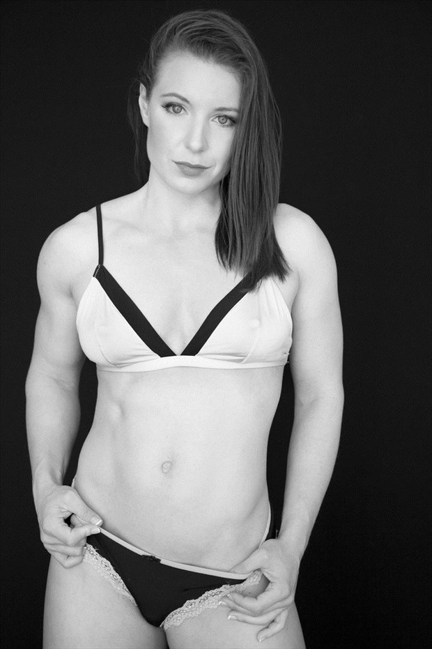 Bikini Figure Study Photo by Model Fe Hackett