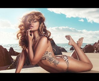 Bikini Glamour Photo by Photographer Chris Conway