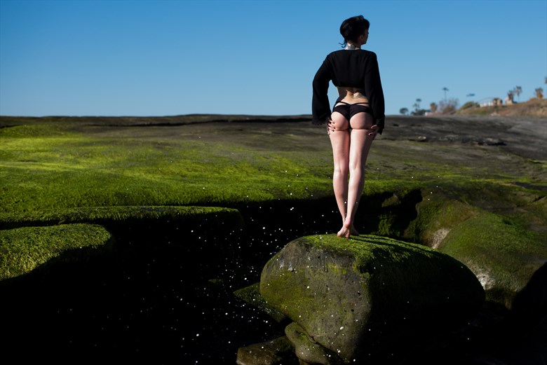 Bikini Nature Photo by Model SeaStar