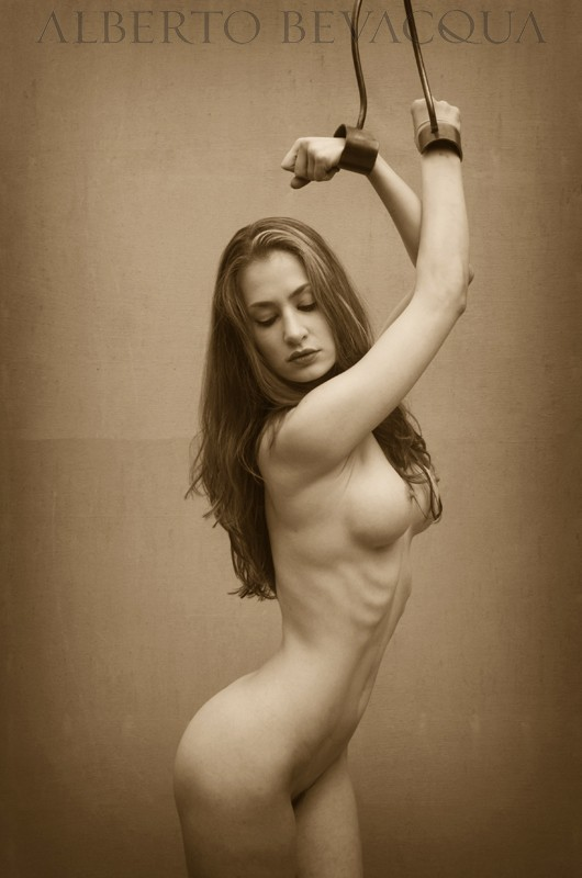 Bind Artistic Nude Photo by Model MelissaAnn