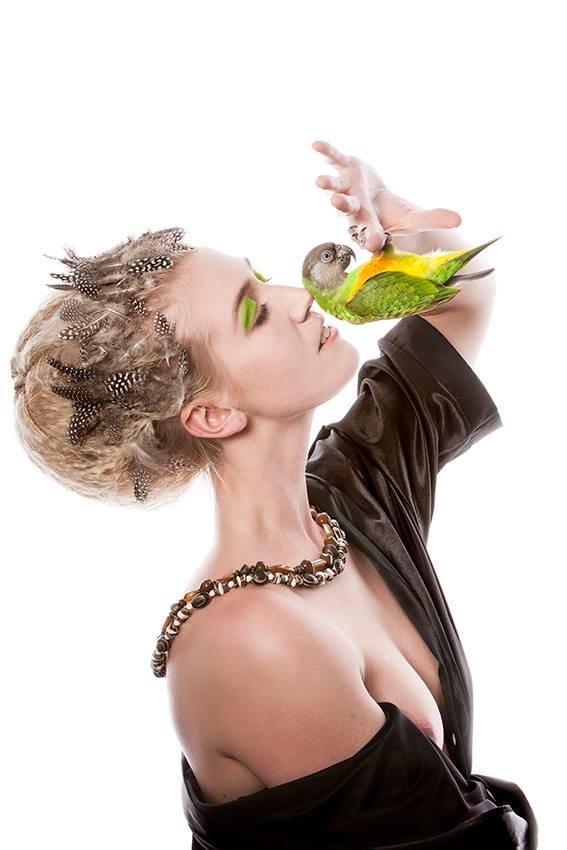 Birdlove Alternative Model Artwork by Model Deeza Lind