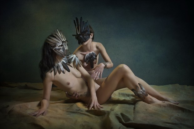 Birds I Artistic Nude Photo by Photographer Jos%C3%A9 M. Mendez