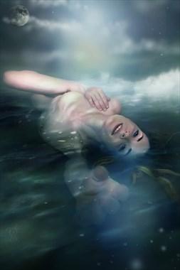 Birth of Aquarius Artistic Nude Artwork by Artist Todd F. Jerde