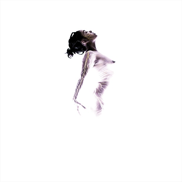 Birth of Idea Artistic Nude Photo by Artist Cerebral Aperture