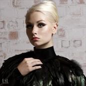 Black Bird Studio Lighting Photo by Model Romanie