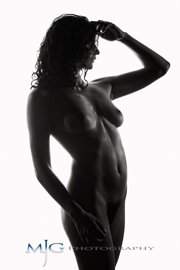Black Diamond Artistic Nude Photo by Model Daisy Von