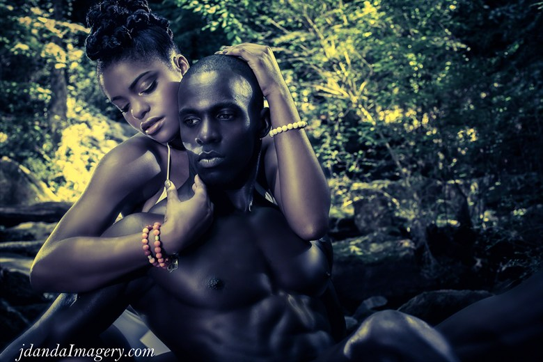 Black Love Nature Artwork by Photographer Jdanda Imagery