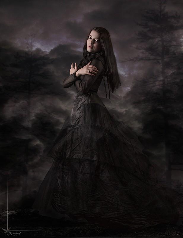Black Widow Fantasy Photo by Photographer Kestrel
