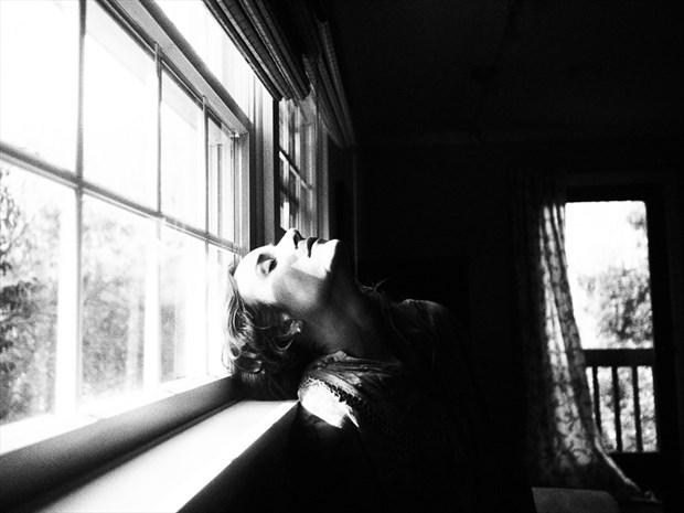 Black and White with Vassanta Sensual Photo by Artist Dark_Stills