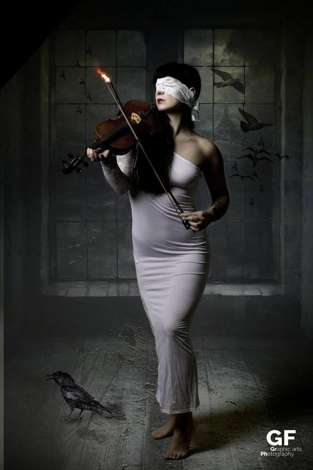 Blind my music 2 Abstract Artwork by Artist Gianluca Festinese