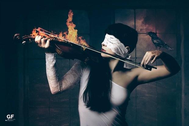 Blinded my sound Fantasy Artwork by Artist Gianluca Festinese