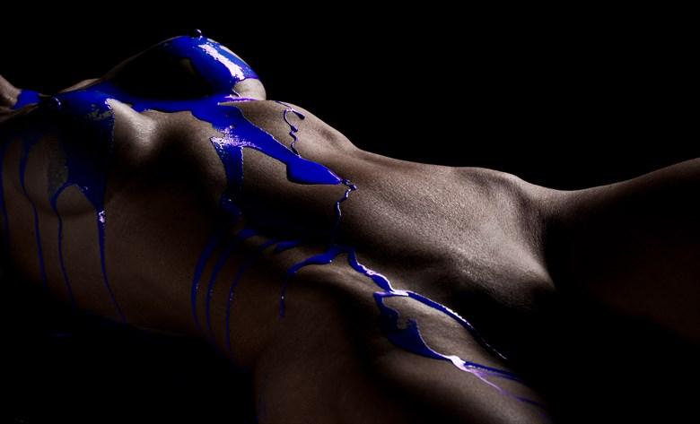 Blue Artistic Nude Photo by Photographer ReImagineMeStudios