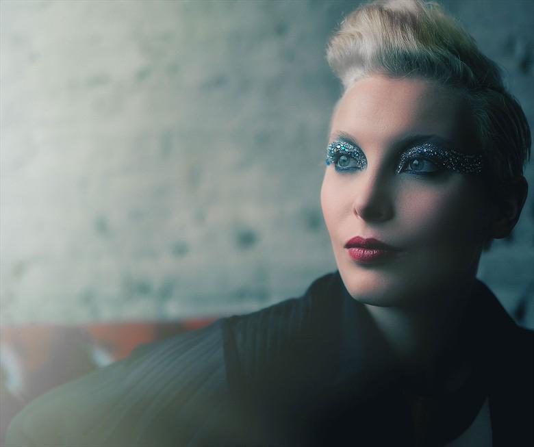 Blue Expressive Portrait Photo by Photographer croshawphotography