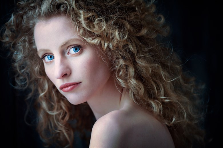 Blue Eyes Portrait Photo by Photographer Niall