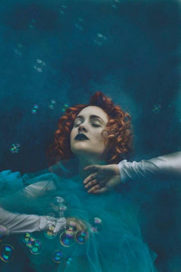 Blue Fantasy Photo by Model BloodyBetty