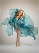 Blue Flames Fashion Photo by Photographer Rascallyfox