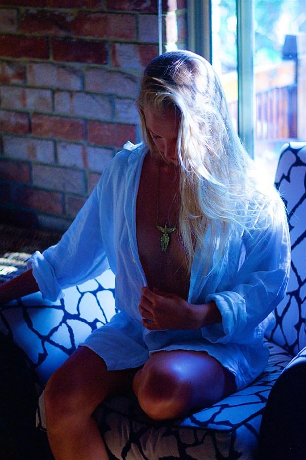 Blue Glamour Photo by Photographer Clark Robertson